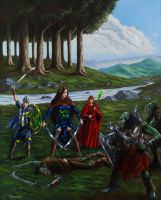 Elves of Avaneth by Neothera