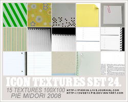 Icon Textures set 24 by sweetxpie