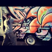 aMorle on Delivery Truck by aMorle