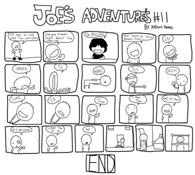 Joes Adventures 11 by LazyMuFFin