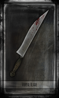 Madness Returns Tarot :: Vorpal Blade by Vanyanie