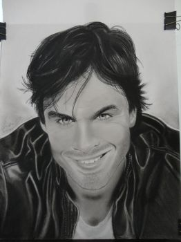 Ian Somerhalder Damon Salvatore by TIAGOTLR