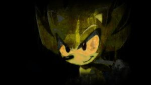 Super Sonic - Wallpaper 4 by I-G-imagination
