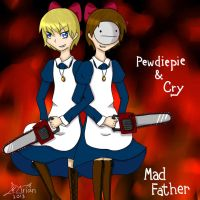 Pewdiecry - Mad Father by MARIANoiz