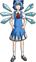 CIRNO by DKLreviews