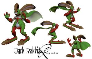 Jack Rabbit by jorgruber