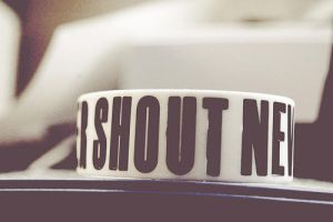 never shout never by iFlawless
