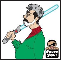 george lucas by ChuckDoodles