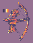 Colour Palette challenge: Sera by Elsendor
