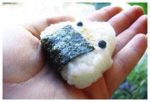 + Onigiri Friend + by Blackberry-Sage