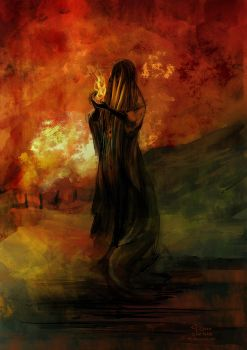 Oil spectre by eilidh