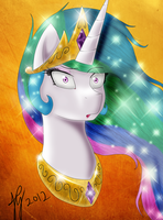 Celestia What the Buck ? by DoomXWolf