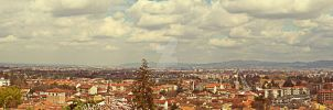 Pano from Castle of Rivoli | Rivoli by Ragnarokkr79