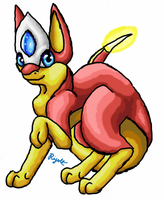 Fakemon: Emby by Rijolt