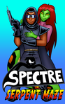 The Spectre in Serpent Maze by ralphbear