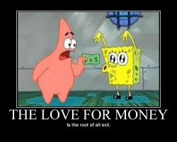 Money Motivational Poster by Sonicluvr5