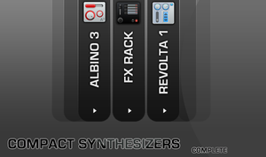 Compact Synthesizers complete by Enigmator