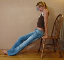 Danielle Denim Blue Jeans 11 by FantasyStock