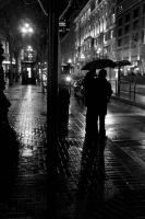 City rain by photography-love