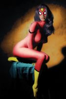 SPIDER WOMAN by roberuniverse