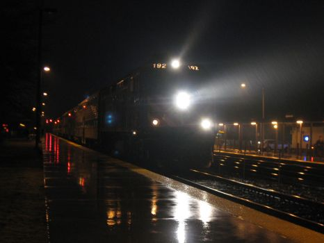 Lighting Up The Rain (Metra F40PHM-2) by statoose