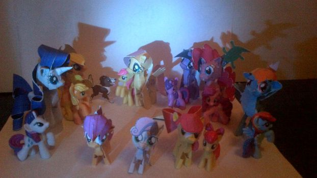Papercraft Ponies by Zoiby