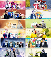 [Pack Cover Facebook] 2 year with EXO by jangddh1932001