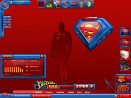 My Superman Alienware XXIV by cal-al