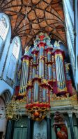 St.Bavo church Haarlem HDR 12 by pagan-live-style
