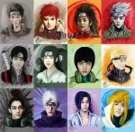 EXO Naruto Version by Edisonlee18