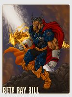 Beta Ray Bill by Kracov