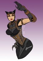 Injustice Catwoman WIP by ADL-art