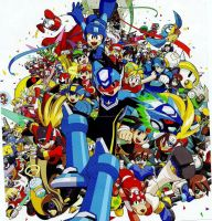 Mega-Man .:Desktop:. by Niimpy