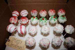 Holiday Cake Pops 2012 by Lady-Lena-LaFaye