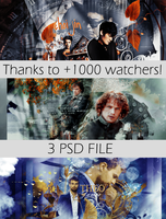 Thanks to +1000 watchers! by blondehybrid