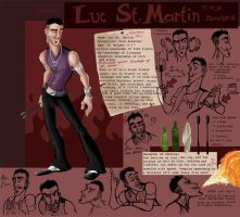 Luc St Martin Reference Sheet by HelenaSun