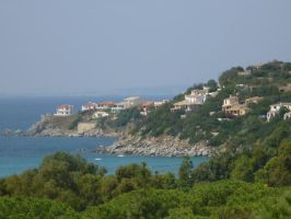 Coastline fo SARDANIA by Altheavlive