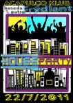 HOUSE PARTY flyer by markaPWK
