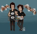 Happy Halloween from Jagger + Townshend by JimmyandtheSuncats