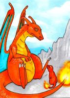 006 - Charizard by Clorin-Spats
