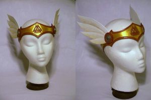 Winged Valkyrie Circlet by MirabellaTook