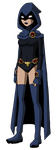 Young Justice: Raven by Glee-chan