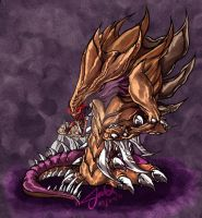 SC2 Hydralisk by 17autilus