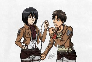 Property of Mikasa by crimson-firelight