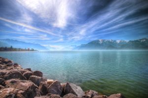 Lake Geneva 30/3/12 by EdSonnex