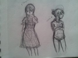 Mikasa and Annie by Portmanteal
