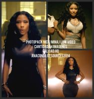 PHOTOPACK NICKI MINAJ LOW by SuperBassPngs2