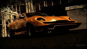 3D car wallpaper 1920_1080 by Laggtastic