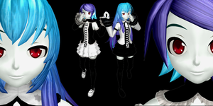MMD DT Anti The Holic by Maayko