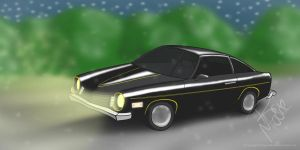 1975 Chevy Vega by generalbrievous